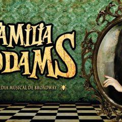 El elenco de la Familia Addams. El musical
