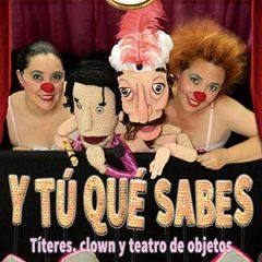 Teatro con Violeta y Péndula, y tú qué sabes