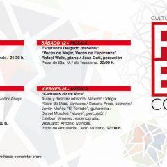 Las actividades previstas para el mes de agosto en el programa Cultura en Red