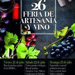 26 Feria de Artesanía y Vino de Fuenmayor