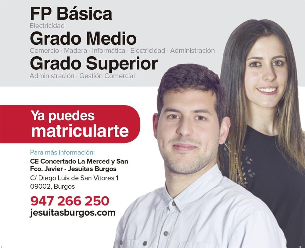 Ciclos Formativos Subvencionados En Jesuitas Burgos La