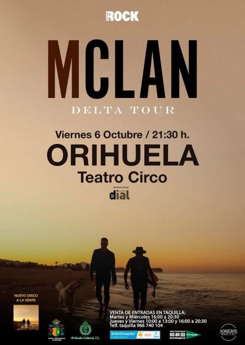 M Clan en el Teatro CircoOrihuela