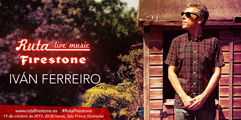 Iván Ferreiro cierra la Ruta Firestone 2017 con un concierto en la Sala Prince