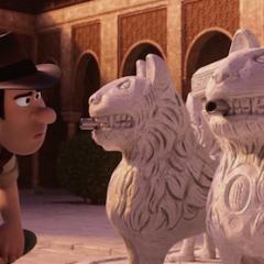 El Ayuntamiento de Granada prepara la ruta turística 'Tadeo Jones' con las localizaciones de Granada en la película