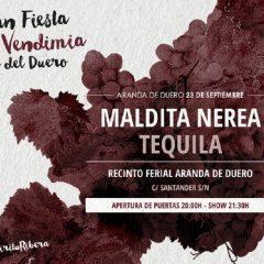 Maldita Nerea y Ariel Rot en la I Gran Fiesta de la Vendimia de Aranda de Duero