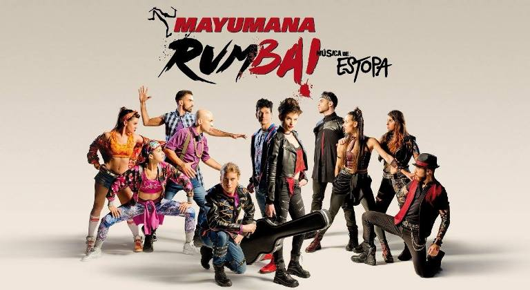 Mayumaná presenta su espectáculo Rumba! en el teatro Afundación de Vigo