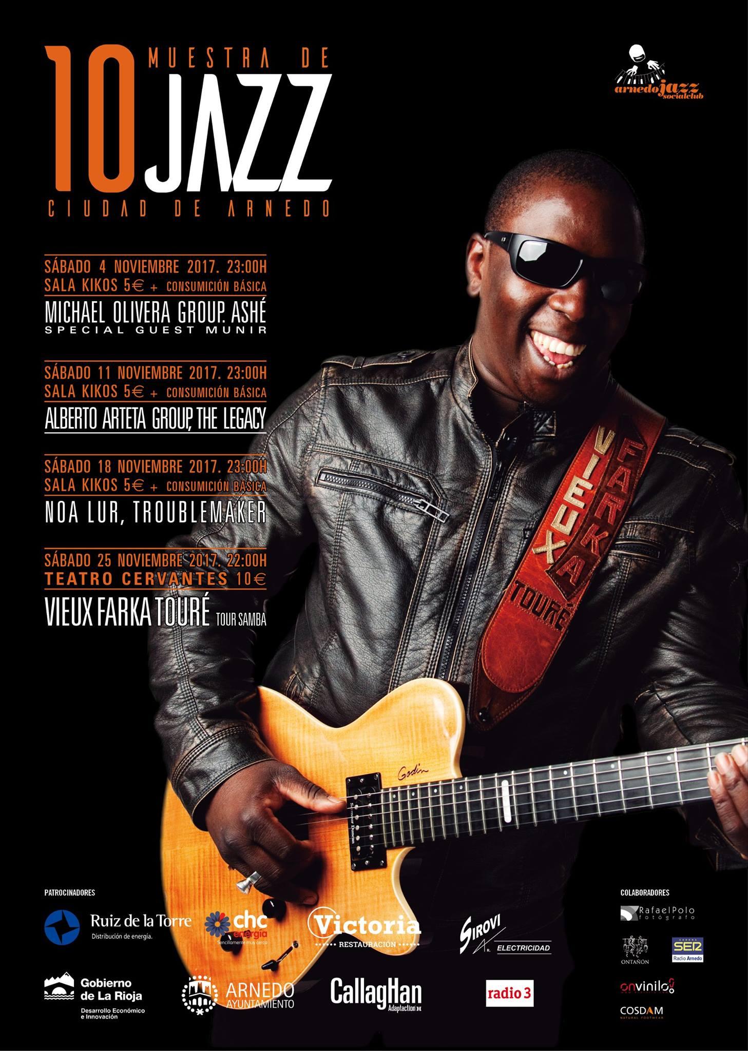 10 Muestra de Jazz «Ciudad de Arnedo»