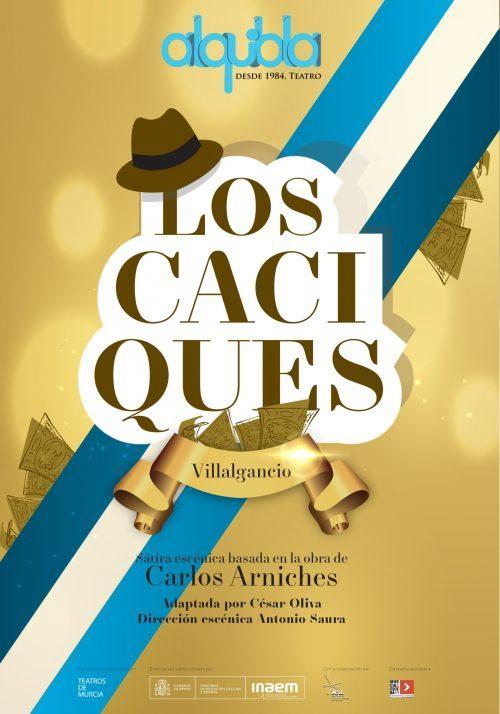 Estreno de la obra 'Los Caciques' de Antonio Saura en el Teatro Romea