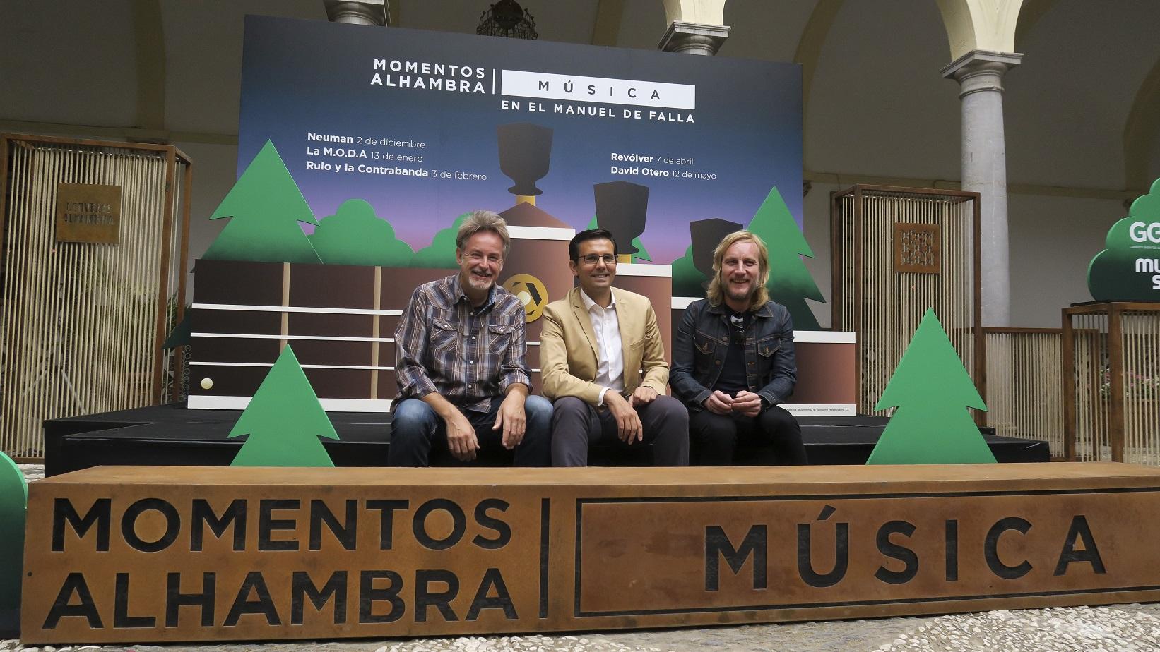 Se ha presentado el Ciclo de Conciertos Especiales 'Momentos Alhambra Música en el Auditorio Manuel de Falla'