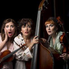 The Funamviolistas: 'ContraEscena' en el Teatro Clunia