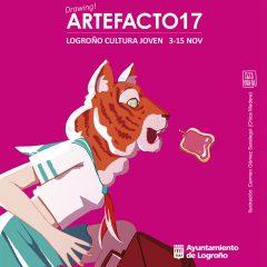 Artefacto 2017, Logroño Cultura Joven del 3 al 15 de noviembre