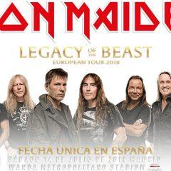 Iron Maiden en Madrid el 14 de julio