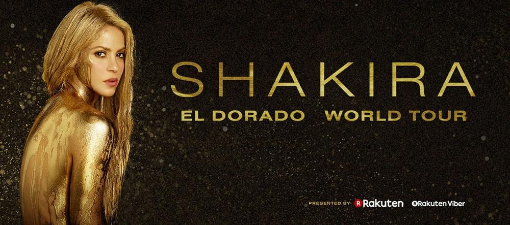 Shakira pospone su gira mundial
