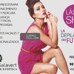 Centro de estética, belleza y bienestar en Logroño, Silvia Salavert