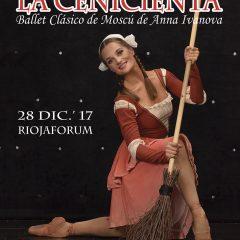 Ballet La Cenicienta, con el Ballet Clásico de Moscú de Anna Ivanova