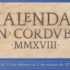 KALENDAS en  CORDVBA MMXVIII- del 23 de febrero al 11 de marzo de 2018