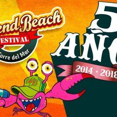 Abonos y entradas WEEKEND BEACH FESTIVAL TORRE DEL MAR 2018 (Málaga)