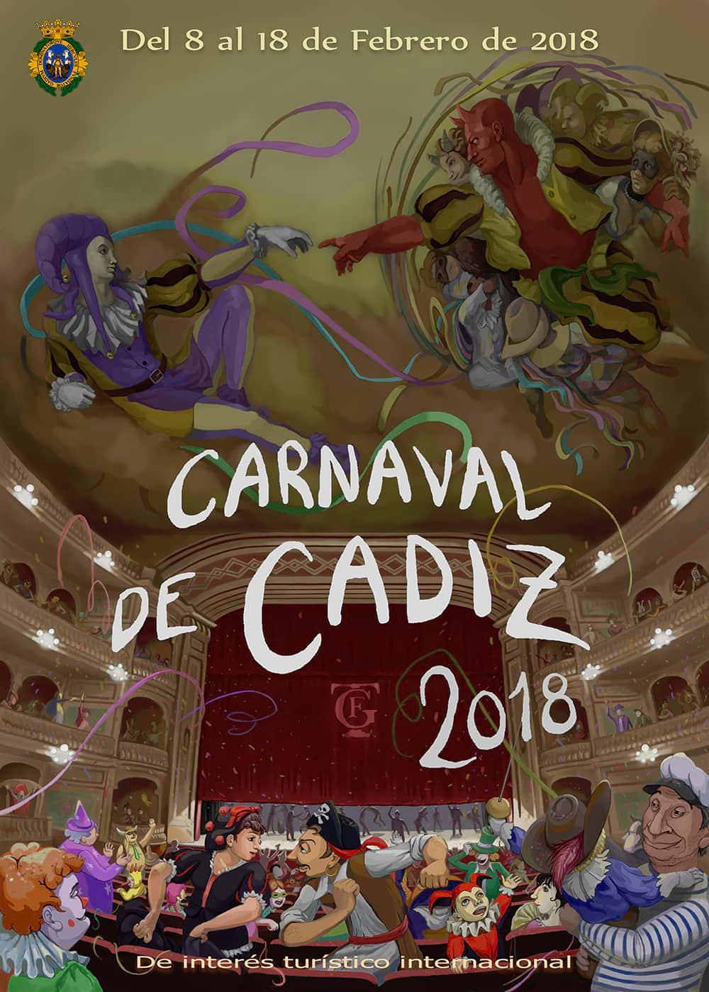 Carnaval de Cádiz 2018: conciertos en la Plaza de San Antonio