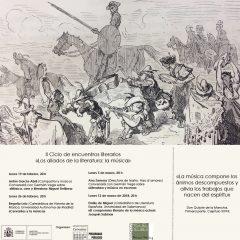 `El Museo Casa de Cervantes y la Fundación Miguel Delibes inician su II ciclo de encuentros literarios, dedicado a la música ´