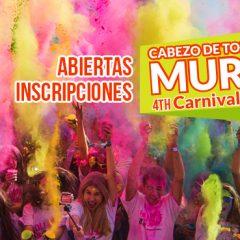 Vuelve a Murcia Holi Life CARNAVAL, entradas inscripciones con descuento en entradasgo.com