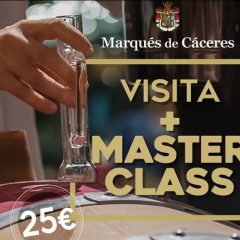 No te pierdas esta Masterclass en Marqués de Cáceres