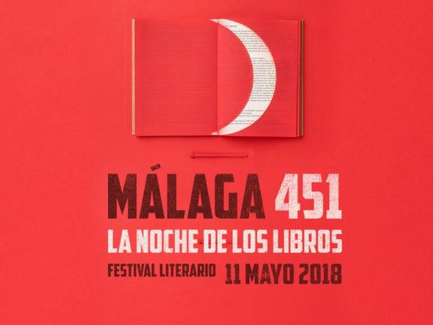 'Málaga 451: La Noche de los Libros' amplía su apuesta internacional y se consolida como uno de los festivales literarios más importantes de España