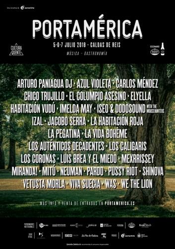 Festival PortAmérica 2018 en Caldas de Reis