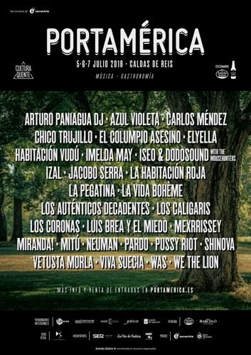 El Festival PortAmérica confirma a Vetusta Morla, Miranda!, Los Caligaris, Imelda May, Pussy Riot, Iseo & Dodosound with The Mousehunters y Los Coronas, entre otros