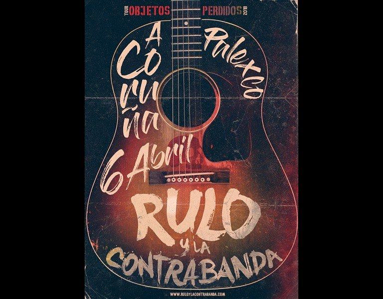 Rulo y la contrabanda concierto en A Coruña