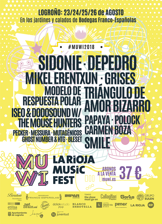 Novedades en el Muwi La Rioja Music Fest