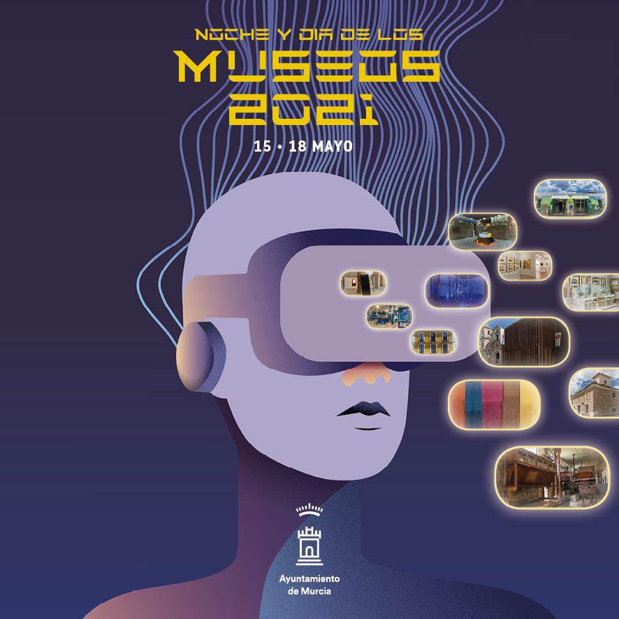 Progrmacion Noche y dia de los Museos Murcia 2021
