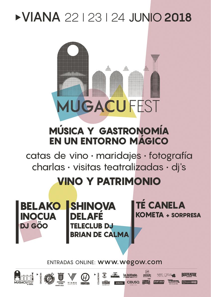 Mugacu Fest, música y gastronomía en Viana