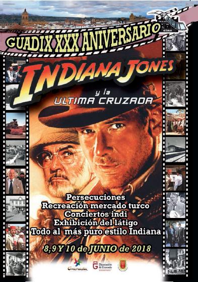 XXX Aniversario del rodaje de 'Indiana Jones y la última cruzada' en Guadix