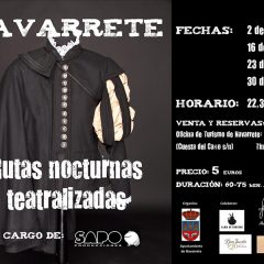 Rutas nocturas teatralizadas en Navarrete