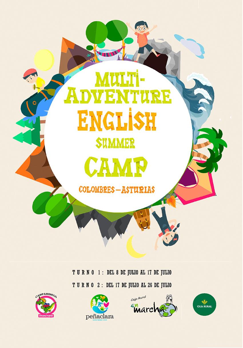 Campamento de Verano Multi-Adventure English Summer Camp 2018