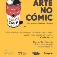 El arte en el cómic, exposición en la sede Afundación de Vigo