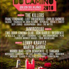 O son do Camiño, festival con The Killers, Franz Ferdinand, Jamiroquai, Lenny Kravitz… en Santiago de Compostela