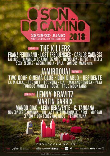 O son do Camiño, festival en Santiago de Compostela