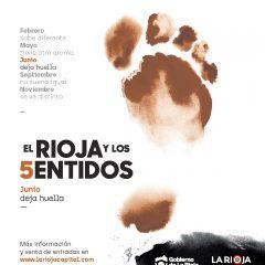 Junio deja Huella con El Rioja y los 5 Sentidos