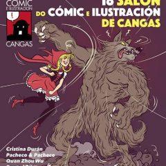 Salón del cómic e ilustración en Cangas
