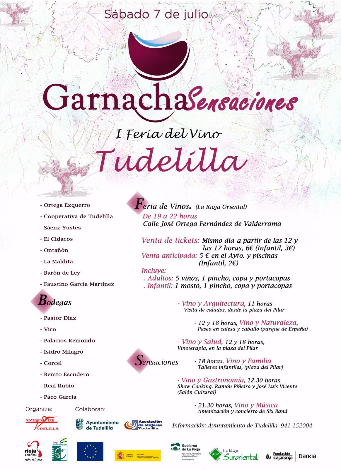 Garnacha Sensaciones, I Feria de Vino de Tudelilla
