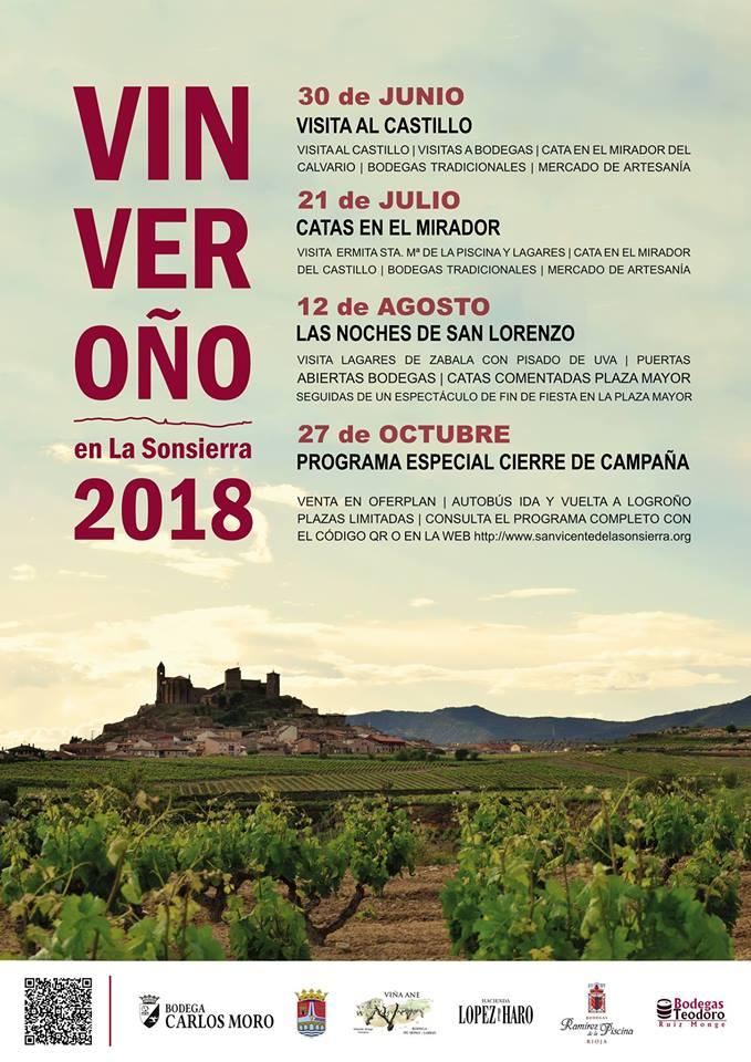 El 30 de junio, disfruta del #Vinveroño en la Sonsierra