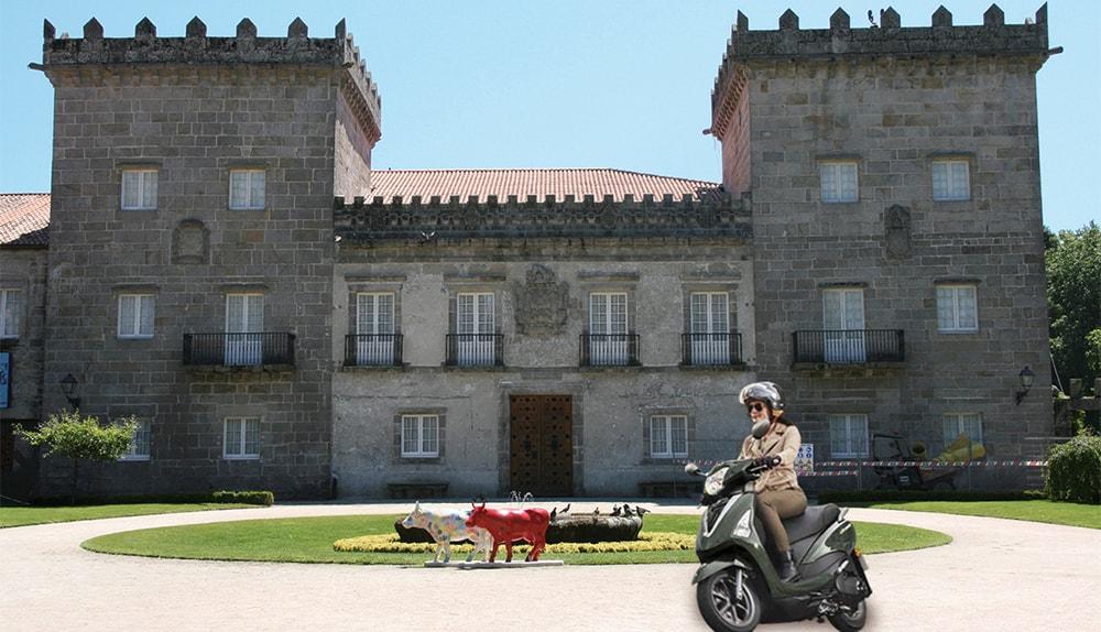 Un día cualquiera en Pontevedra, es mejor con mi Yamaha D'elight
