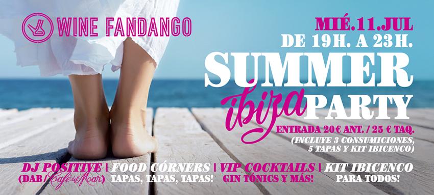 No hay verano sin Summer Party en el Wine Fandango