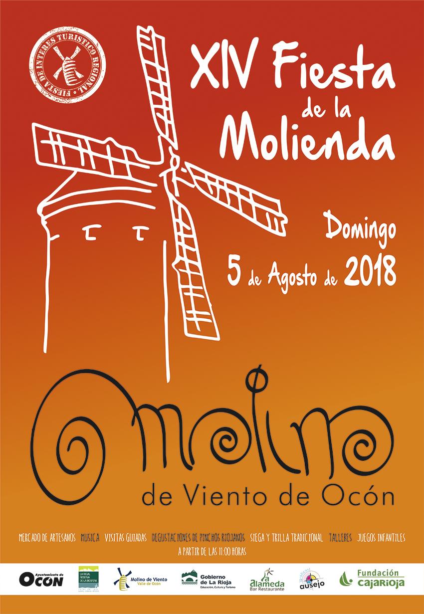 XIV Fiesta de la Molienda en Ocón, fiesta de interés turístico regional