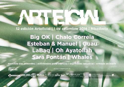 Festival Arteficial, romaría da música e cultura alternativas do Ribeiro en Ribadavia