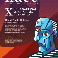 Feria N.A.C.E, X Feria Nacional de alfarería y cerámica en Navarrete