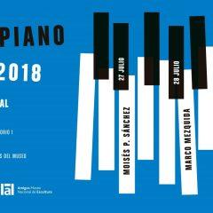 `Solo. Piano. Jazz Un ciclo irrepetible; tres pianistas fuera de serie; las noches más intensas de verano en el Museo Nacional de Escultura´
