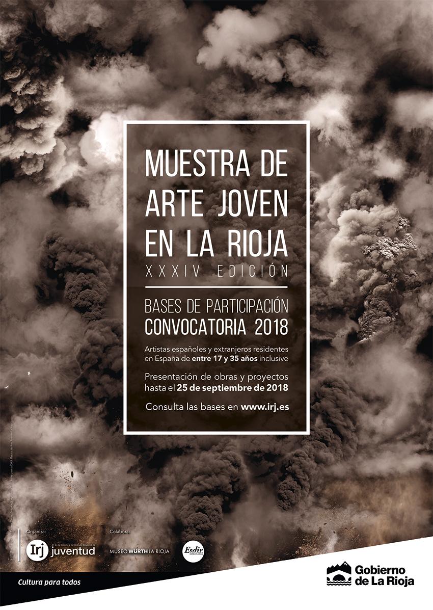 ¡Artistas! Ya tenéis abierta la convocatoria de la XXXIV Muestra de Arte Joven en La Rioja