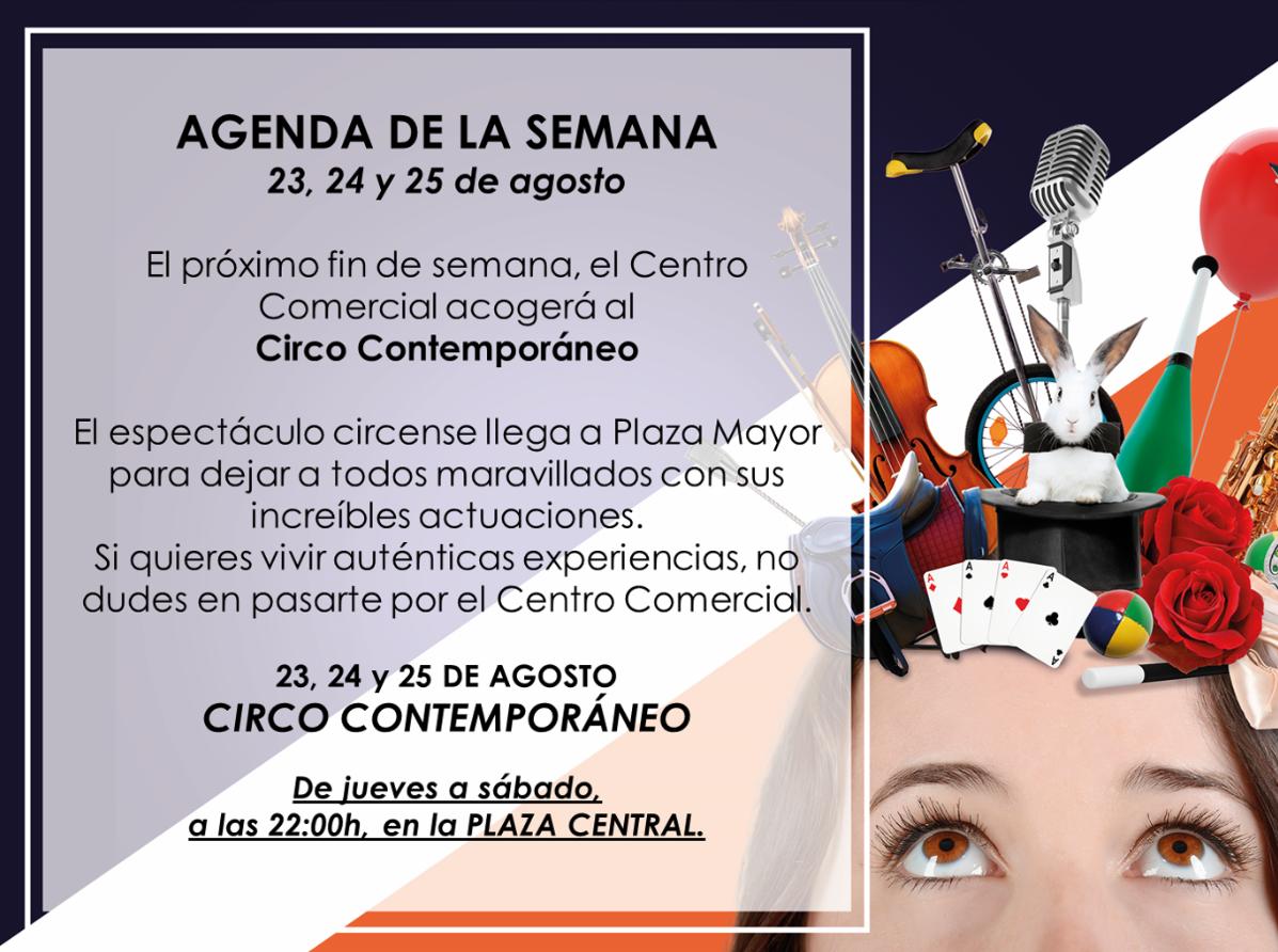 CIRCO CONTEMPORÁNEO en Plaza Mayor Málaga